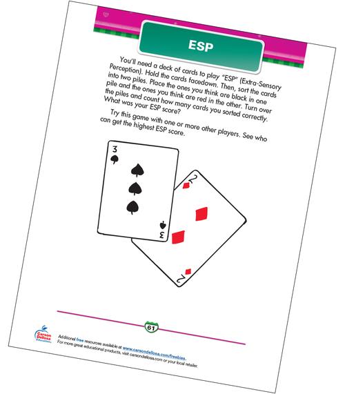 ESP Free Printable Sample Image