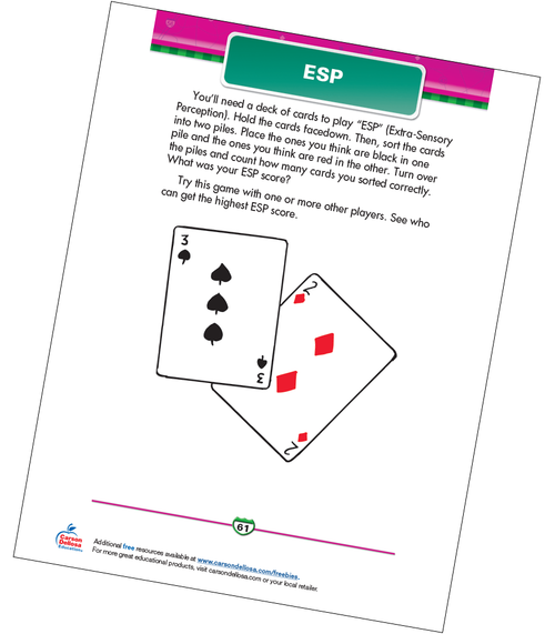 ESP Free Printable Sample Image