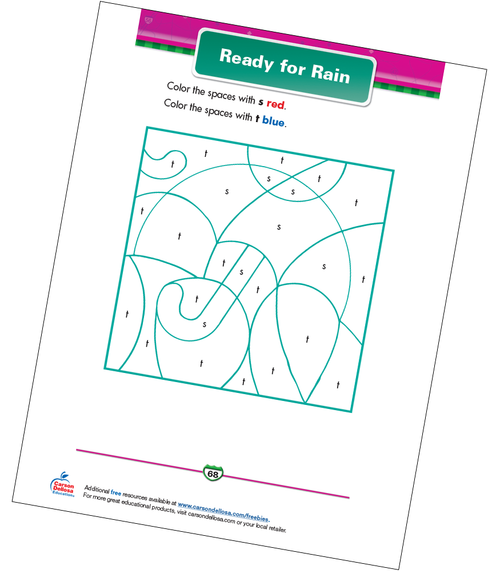 Ready for Rain Free Printable Sample Image