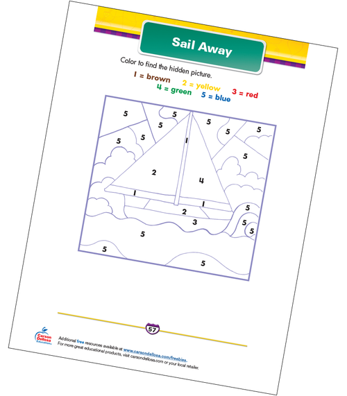 Sail Away Free Printable Sample Image