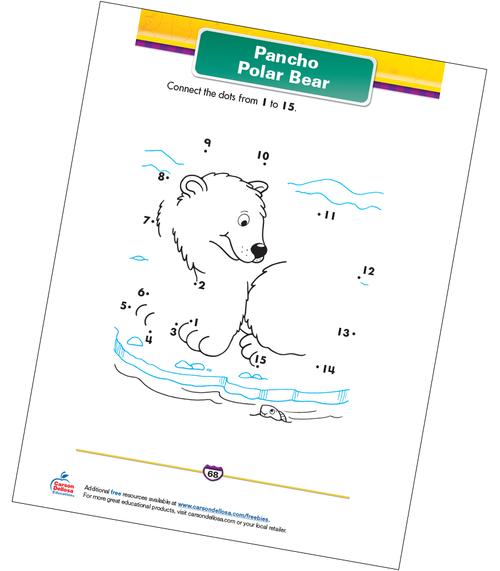 Pancho Polar Bear Free Printable Sample Image