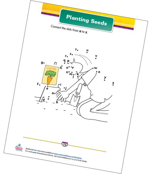 Planting Seeds Free Printable Sample Image