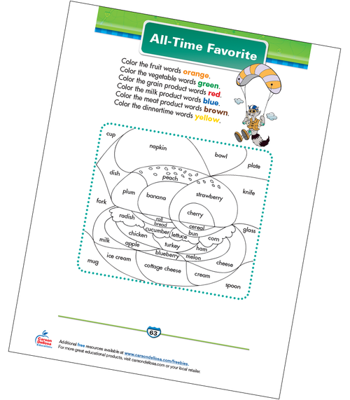 All-Time Favorite Free Printable Sample Image