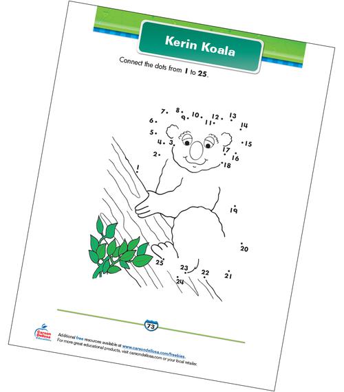 Kerin Koala Free Printable Sample Image