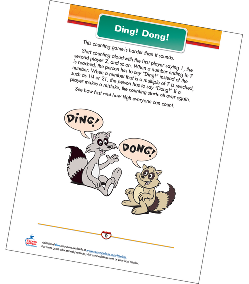 Ding! Dong! Free Printable Sample Image