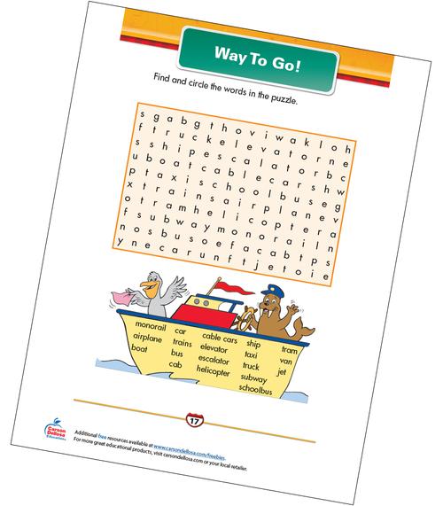 Way To Go! Free Printable Sample Image