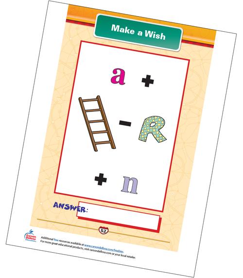 Make a Wish Free Printable Sample Image