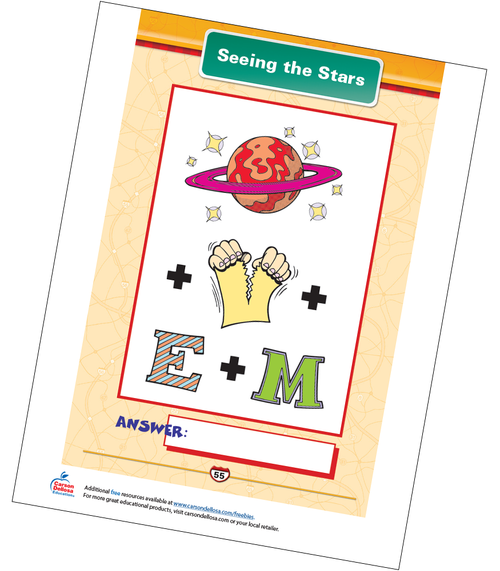 Seeing the Stars Free Printable Sample Image