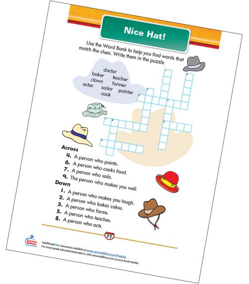 Nice Hat! Free Printable Sample Image