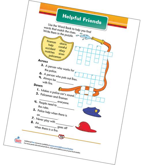 Helpful Friends Free Printable Sample Image