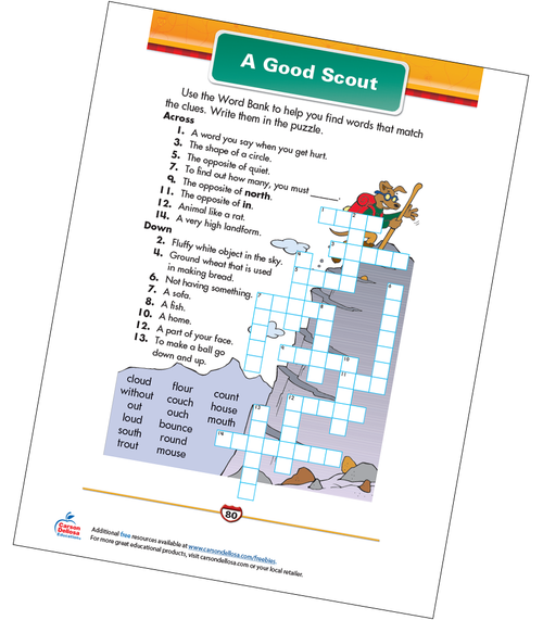 A Good Scout Free Printable Sample Image