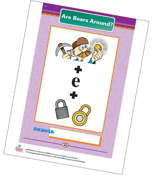 Are Bears Around? Free Printable Sample Image
