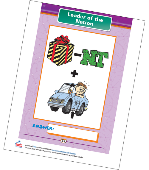 Leader of the Nation Free Printable Sample Image