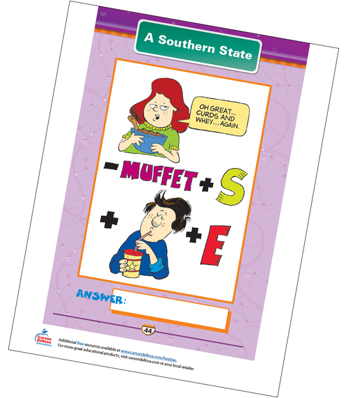 A Southern State Free Printable Sample Image
