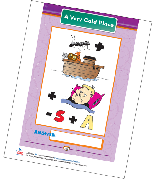 A Very Cold Place Free Printable Sample Image