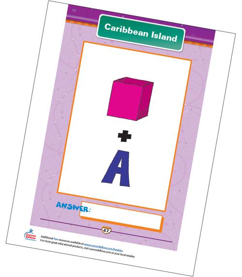 Caribbean Island Free Printable Sample Image