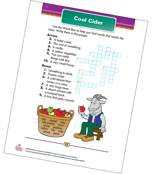 Cool Cider Free Printable Sample Image