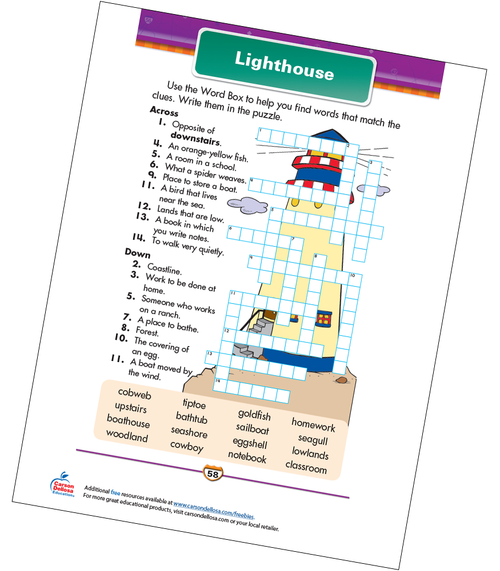 Lighthouse Free Printable Sample Image