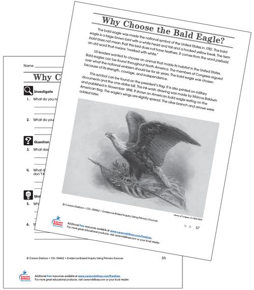 Why Choose the Bald Eagle Grade 4 (On Grade Level) Free Printable Worksheet