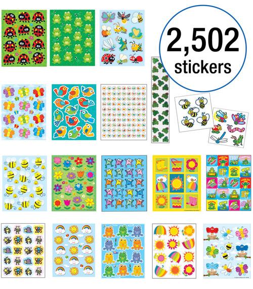 Enormous Spring Sticker Collection