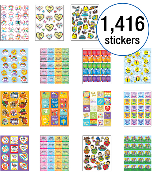 Christian Sticker Collection
