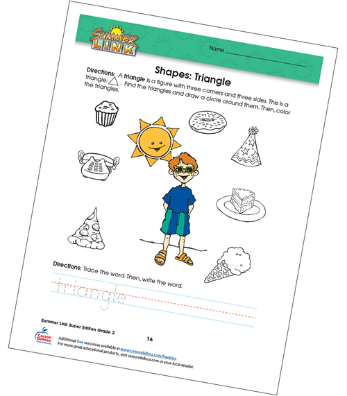 Shapes: Triangles Free Printable