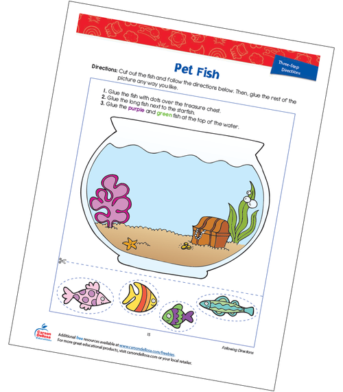 Pet Fish Free Printable