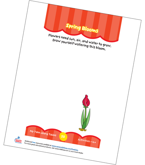 Spring Blooms Free Printable