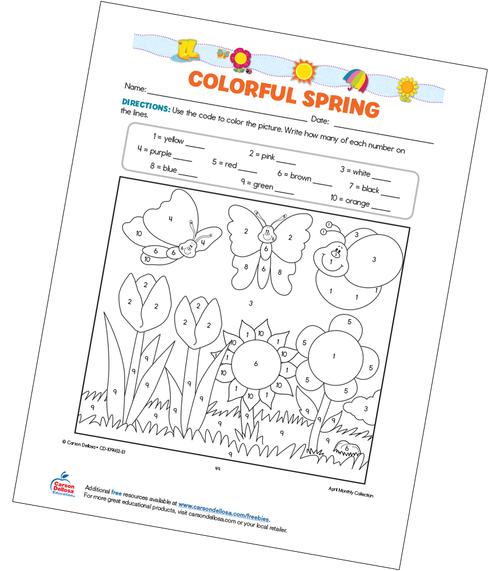 Colorful Spring Free Printable