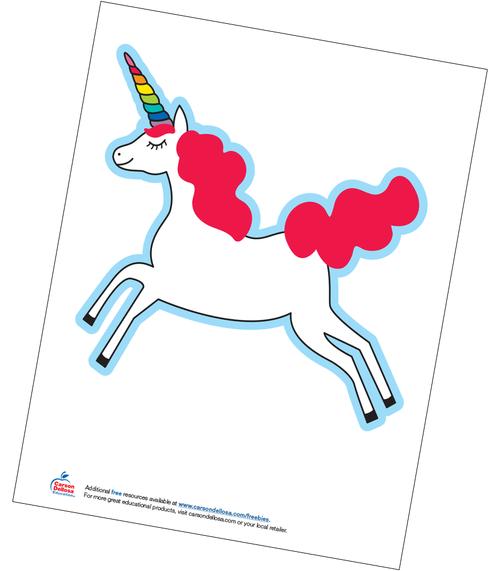 Hello Sunshine Unicorns Clip Art Free Printable