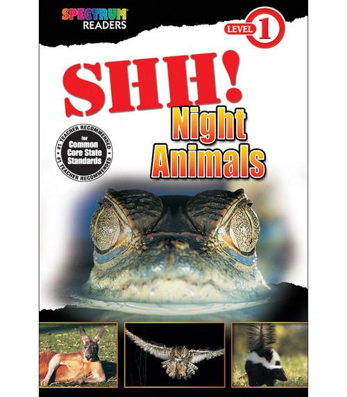 SHH! Night Animals Reader Grade PK-1 Free eBook