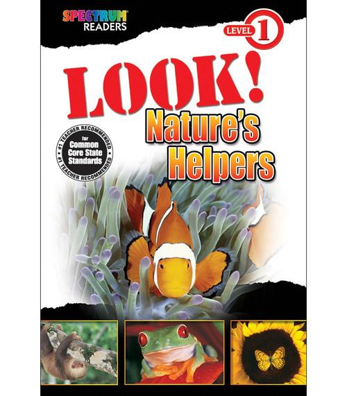 LOOK! Nature's Helpers Reader Grade PK-1 Free eBook