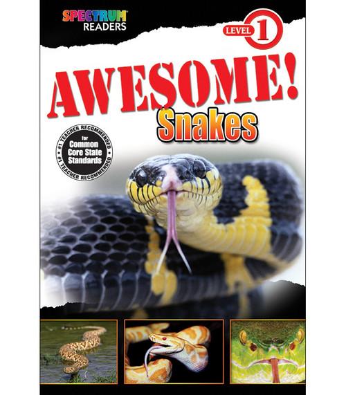 AWESOME! Snakes Reader Grade PK-1 Free eBook
