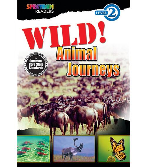 WILD! Animal Journeys Reader Grade K-1 Free eBook
