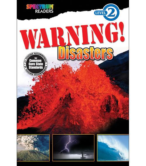 WARNING! Disasters Reader Grade K-1 Free eBook