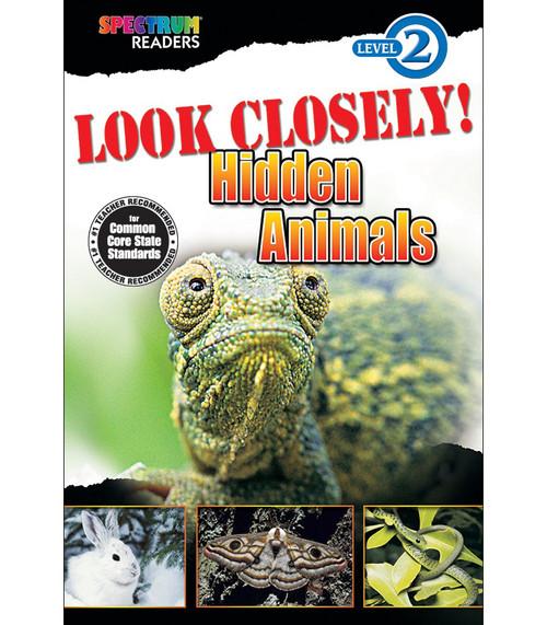 LOOK CLOSELY! Hidden Animals Reader Grade K-1 Free eBook