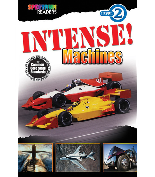 INTENSE! Machines Reader Grade K-1 Free eBook