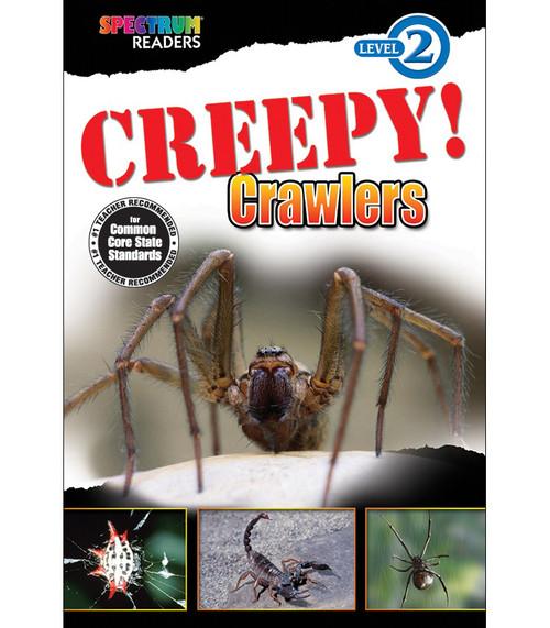 CREEPY! Crawlers Reader Grade K-1 Free eBook