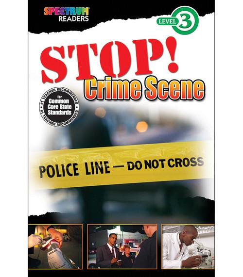 STOP! Crime Scene Reader Grade 1-2 Free eBook
