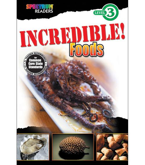 INCREDIBLE! Foods Reader Grade 1-2 Free eBook