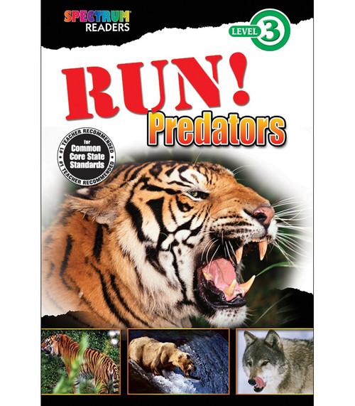 RUN! Predators Reader Grade 1-2 Free eBook