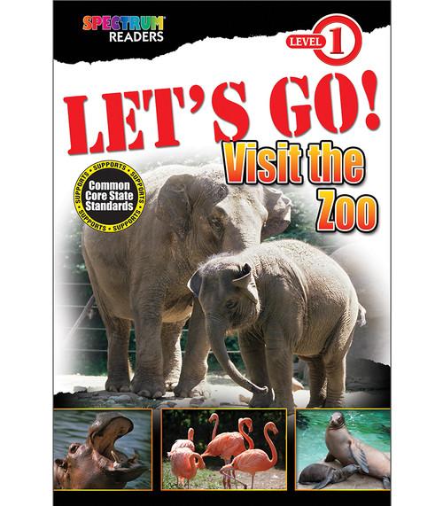 LET'S GO! Visit the Zoo Reader Grade Preschool-1 Free eBook