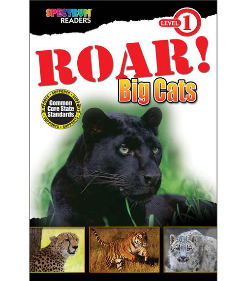 ROAR! Big Cats Reader Grade Preschool-1 Free eBook