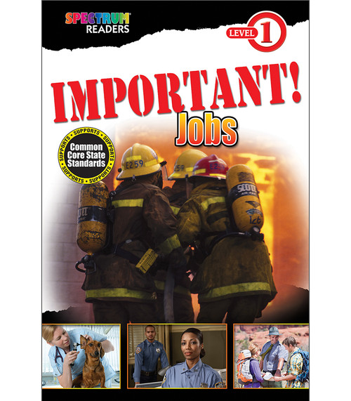 IMPORTANT! Jobs Reader Grade Preschool-1 Free eBook