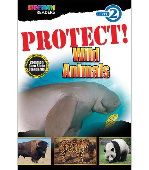 PROTECT! Wild Animals Reader Free eBook