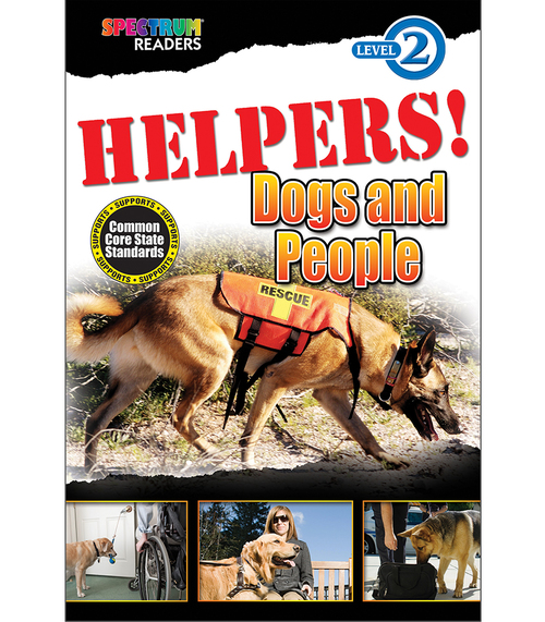 HELPERS! Dogs and People Reader Grade K-1 Free eBook