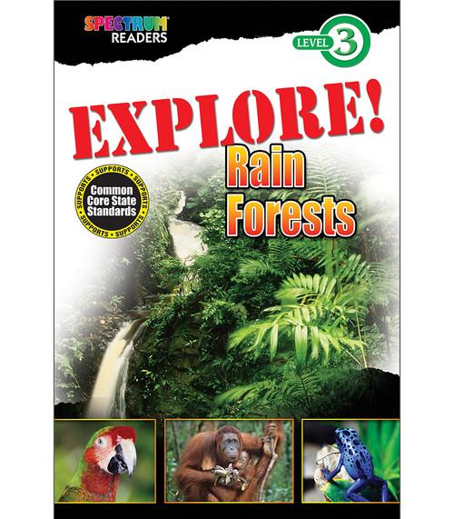 EXPLORE! Rain Forests Reader Grade 1-2 Free eBook