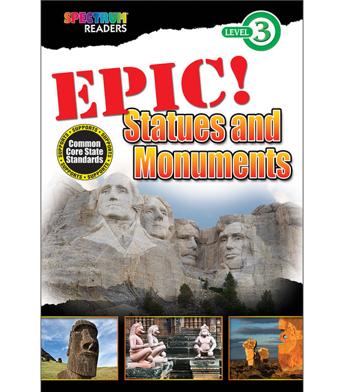 EPIC! Statues and Monuments Reader Grade 1-2 Free eBook