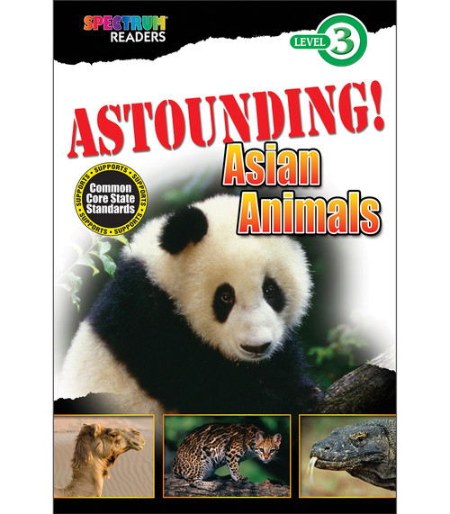 ASTOUNDING! Asian Animals Reader Grade 1-2 Free eBook