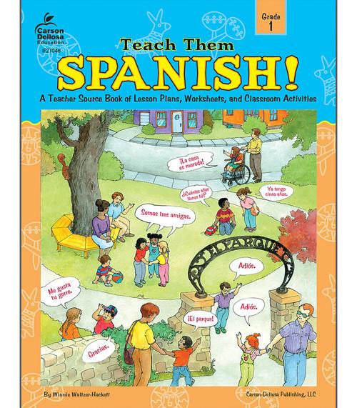Instructional Fair Teach Them Spanish!, Grade 1 Teacher